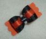 "Halloween Fancy Black and Orange 5/8""-5/8"