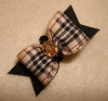 "Designer Inspired 5/8""-Designer, Tartan, Plaid, Burberry, Tan, Black, Beige, Burgandy"