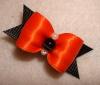 "Halloween Orange Satin 5/8""-5/8"