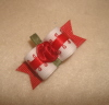 "Holiday Rose 5/8""-Red, Rose, White, Picot, Christmas, Valentines, Xmas"