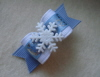 """Snowflakes 5/8""""-Blue, Snowflakes, snowflake, limited, christmas, holiday, boy, light blue, wisteria, xmas, white, silver, sparkle,"""