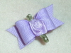 "Lavender Ribbon Rose 5/8""-"