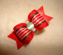 "All Wrapped Up 5/8""-Christmas, Xmas, Red, Green, Mint, Gold, Silver, Cat's Eye, Cats, Stripe, Satin, 5/8"