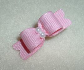 "Tiny Pink Grosgrain 3/8""-"