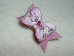 """Pink Flower Garden 5/8""""-Pink, Flower, Garden"""