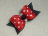 "Lady Bug Dot 5/8""-Red, Black, White, Cats Eye, Bead, lady Bug, Ladybug, Faux Pearl, Boy, Girl, Dot"