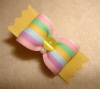 "Springtime Stripe 5/8""-Springtime, Spring, Summer, Pastel, Pink, Yellow, Blue, Mint, Green, Preppy, Stripe, Lemonade, Zig Zag, Cats Eye, 5/8, Easter, Valentine, Valentines"